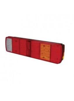 8 Function LED Rear Combination Lamp - S/T/Fog/SM/DI/Ref/Rev/NPI - 24V - right hand