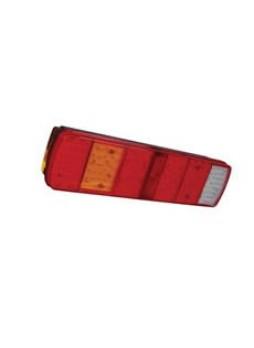 8 Function LED Rear Combination Lamp - S/T/Fog/SM/DI/Ref/Rev/NPI - 24V - left hand