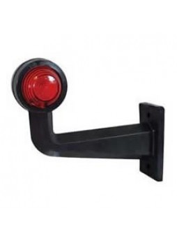 Universal Red/White SCC Angled Outline Marker Lamp