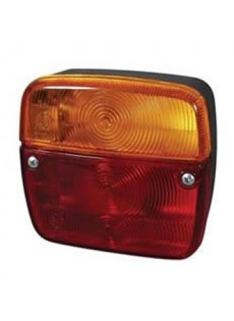4 Function Rear Combination Lamp - Stop/Tail/Direction Indicator/Number Plate Illumination
