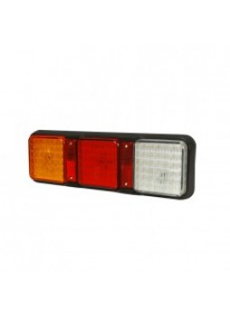 5 Function LED Rear Combination Lamp - Stop/Tail/Direction Indicator/Reverse/Reflector - 12/24V
