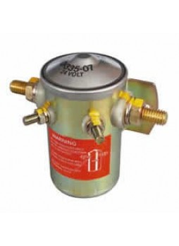 Bulkhead Make and Break Solenoid - 100A Continuous at 24V