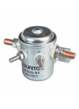 Bulkhead Make and Break Solenoid - 50A Intermittent at 24V