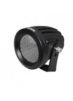 1 x 25W CREE LED Round Work Lamp - Black, 9-36V 1700lm, Ip68