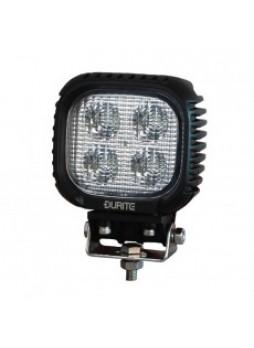 4 x 10W CREE LED Work Lamp - Black, 10-30V 3500lm, IP67
