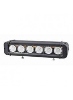 6 x 10W CREE LED Flood Light Bar with Lead and Sealed Connector - 12/24V