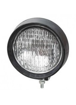 Small Black Rubber Work Lamp