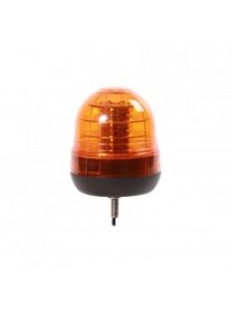 Single Bolt Flashing LED Beacon - 12/24V