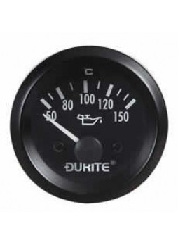 12V Oil Temperature Gauge with Sender - 52mm
