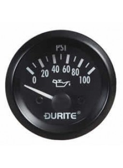 12V Oil Pressure Gauge with Sender - 52mm