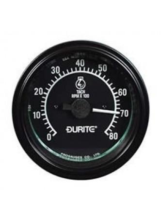 12/24V Alternator Pick-up Tachometer - 0-8000RPM
