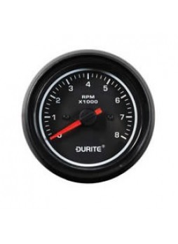 12/24V LED Illuminated Marine Tachometer - 85mm -8000RPM