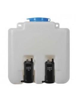 12V 3.0 Litre Windscreen Washer Bottle with 2 Pumps