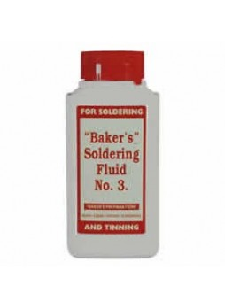 Baker's No. 3 Soldering Fluid - 125ml