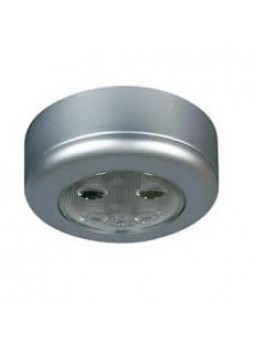 Silver LED Roof Lamp with Switch - 12/24V