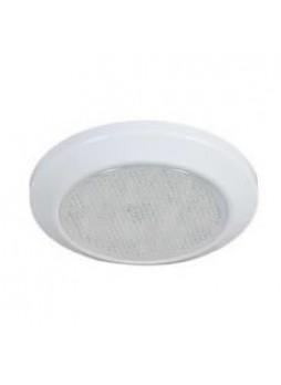 30 White LED Roof Lamp with 6 Red LED Night Light - IP66, 12/24V