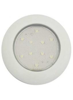 Slim Circular Interior Lamp - 12/24V