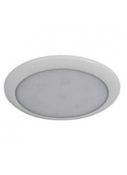 144 White LED Splashproof Roof Lamp - 12/24V