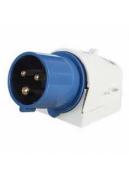 16A 230V Blue Surface-Mounted Plug