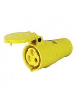 16A 110V Yellow Trailing Socket