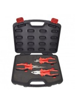 3 Piece Vde Insulated Plier Set