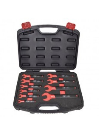 10-Piece Insulated Open-Ended Spanner Set