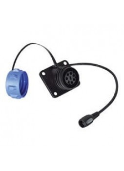 Retractable Heavy Duty CCTV Cable Trailer Socket