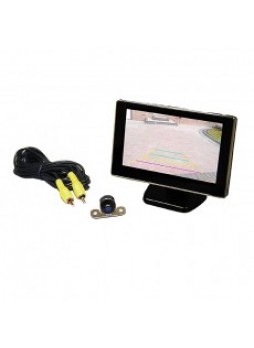 "CCTV Kit - 4.3"" Colour Monitor and Infrared Camera - 12V"