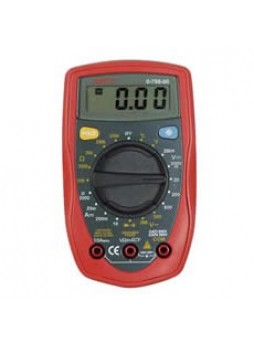 Hand-Held Digital Multimeter with Temperature