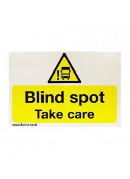 Blind Spot Safety Sign - Landscape