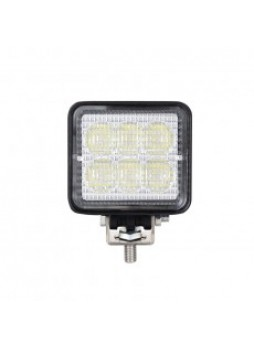 6 x 3W LED Work Lamp - 10-40V