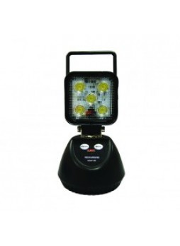 Battery-operated LED Work Lamp - 1150Lm - with Magnetic Base and Handle - IP67